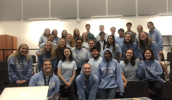 Yorktown Hs Choir T-Shirt Photo