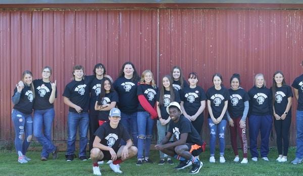 Ths Yearbook Staff T-Shirt Photo
