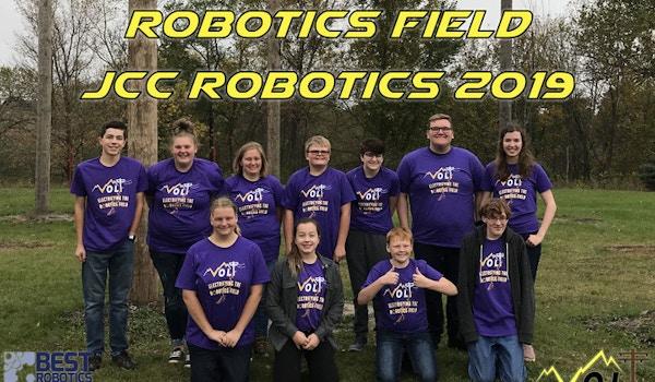 Jcc Robotics Team Ready For Competition! T-Shirt Photo