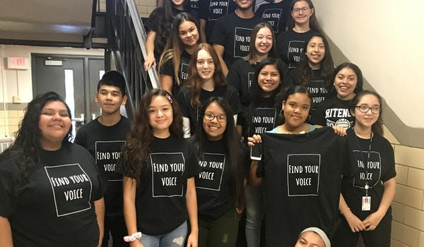 Find Your Voice & Change The World With Fccla T-Shirt Photo