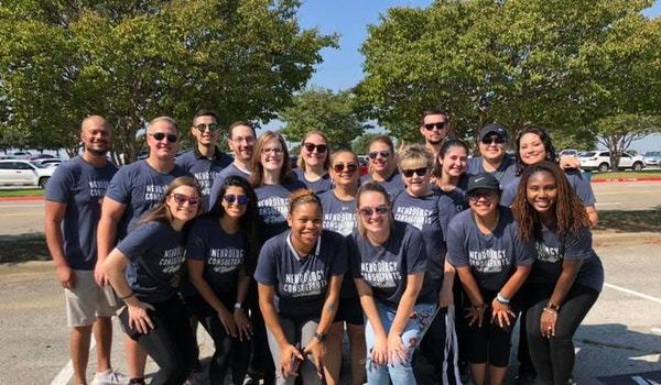 Neurology Consultants Of Dallas Parkinson's Moving Day Team T-Shirt Photo