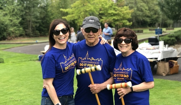 Team Marasco Fundraising For The Michael J Fox Foundation For Parkinson's Research T-Shirt Photo