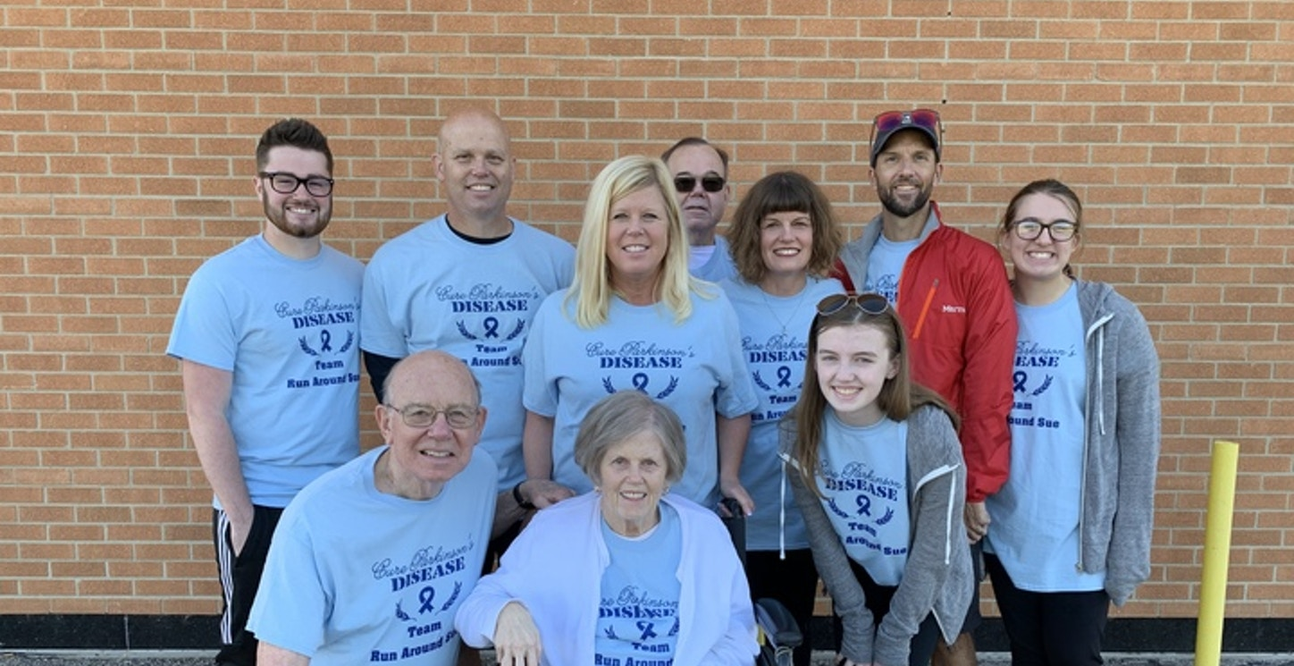 Our Family At The American Parkinson Disease Association Optimism Walk T-Shirt Photo