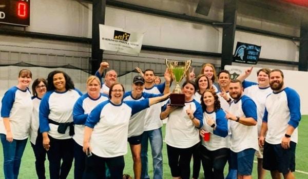 Winning Kickball Team T-Shirt Photo
