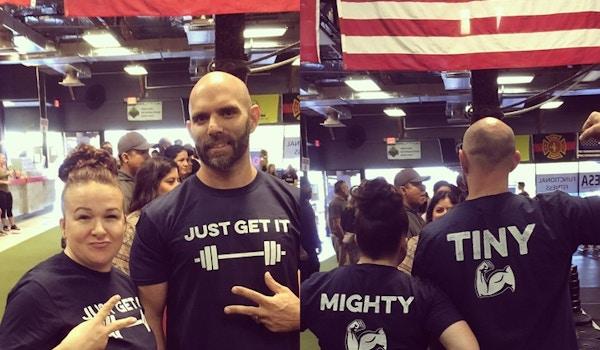 Tiny And Mighty  T-Shirt Photo