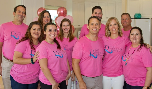 The Reynolds Team Pink Party! T-Shirt Photo