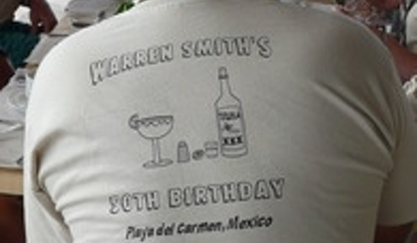 50th Birthday Party In Mexico T-Shirt Photo