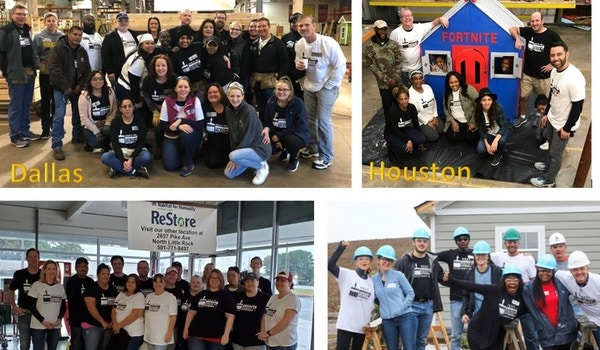 Habitat For Humanity   1 Mission, 1 Weekend, 4 Locations   All In! T-Shirt Photo