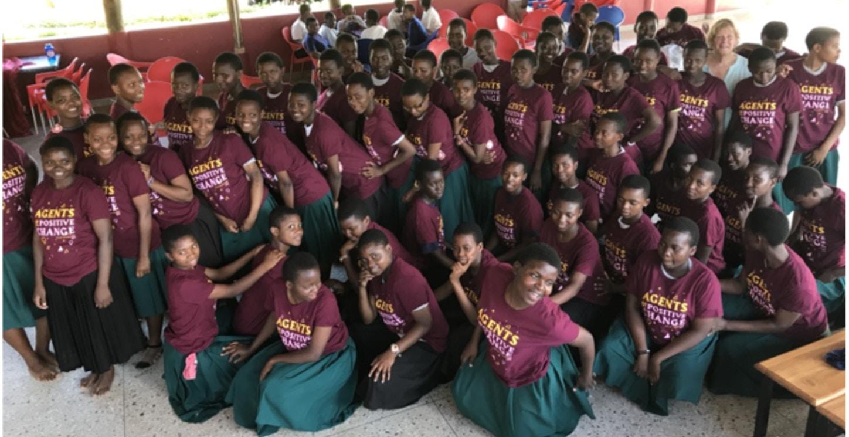 Sega Girls School Graduation In Tanzania T-Shirt Photo