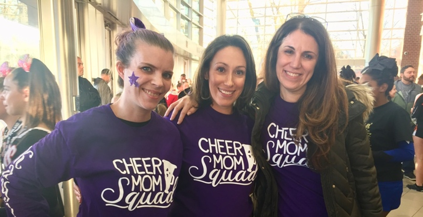 Cheerleading Competition  T-Shirt Photo