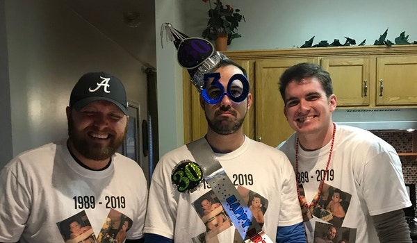 Jakes30th T-Shirt Photo
