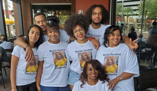 World's Greatest Grandmother's Birthday Vacation T-Shirt Photo