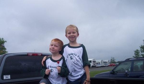 Kids At The Ballgame T-Shirt Photo