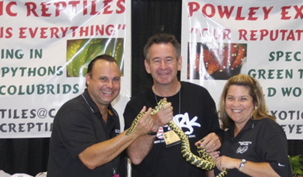 Powley Exotic Reptiles T-Shirt Photo
