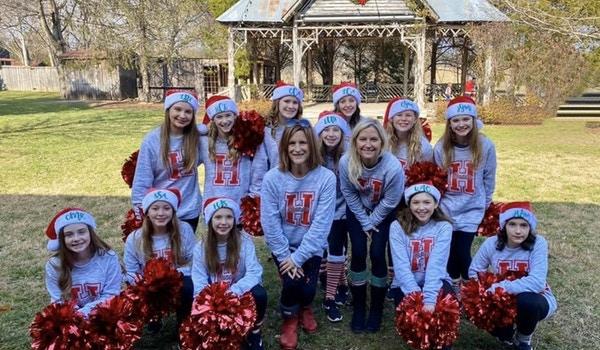 Hillsboro Dance Team Performs At The 2019 Leiper's Fork Christmas Parade! T-Shirt Photo