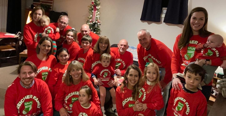 Family Christmas  T-Shirt Photo