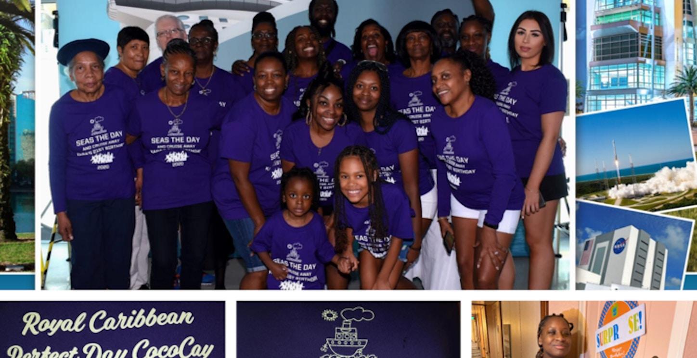 Kara 21 Birthday Family Reunion Cruise T-Shirt Photo