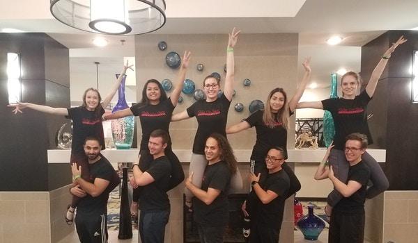 Sazón   The Premiere Acrobatic Salsa Team At Saint Louis University T-Shirt Photo