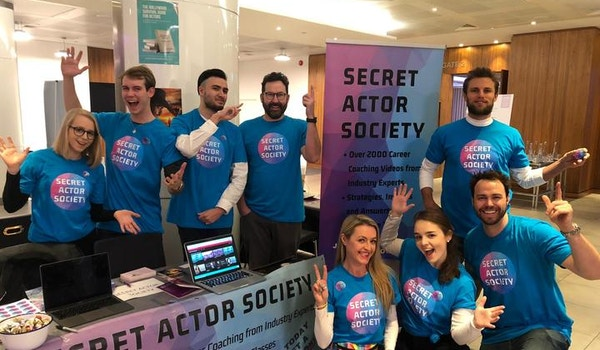 Secret Actor Society London Takeover T-Shirt Photo