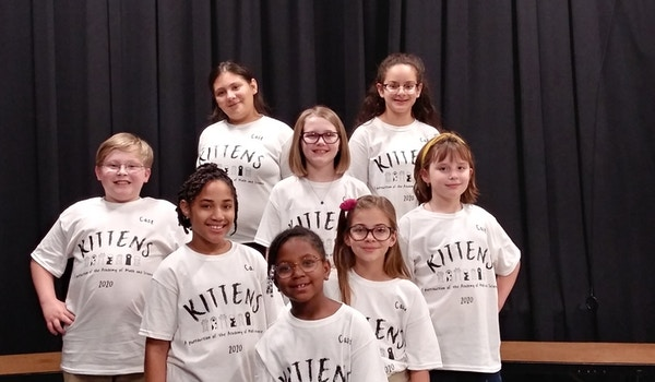 Kittens Cast T-Shirt Photo