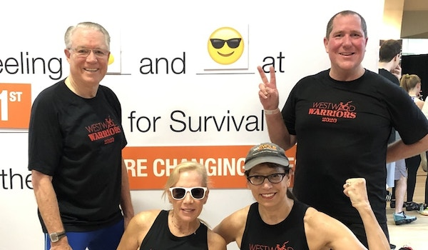 Cycle For Survival Team 2020 T-Shirt Photo