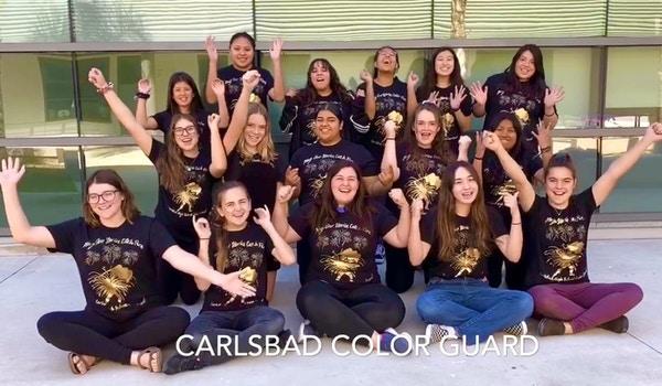 Carlsbad Color Guard Team Shirts! T-Shirt Photo