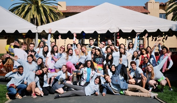 The Stanford Dance Marathon Team T-Shirt Photo