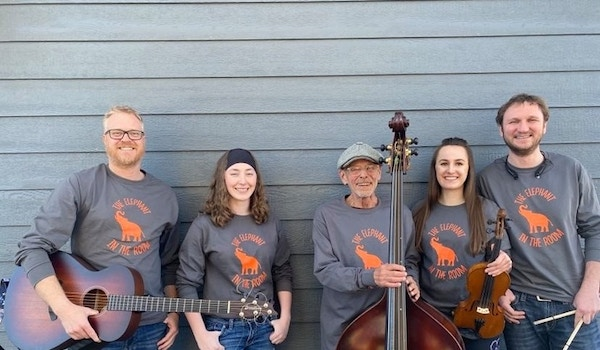 The Elephant In The Room Band T-Shirt Photo
