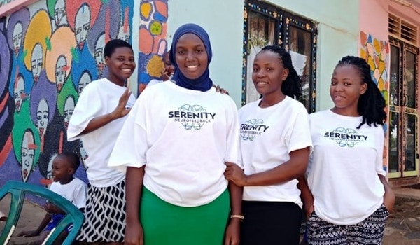 Project Serenity At Dorna Centre Home For Autism Uganda T-Shirt Photo