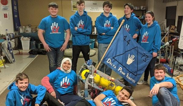 Delta Prime Team Photo T-Shirt Photo