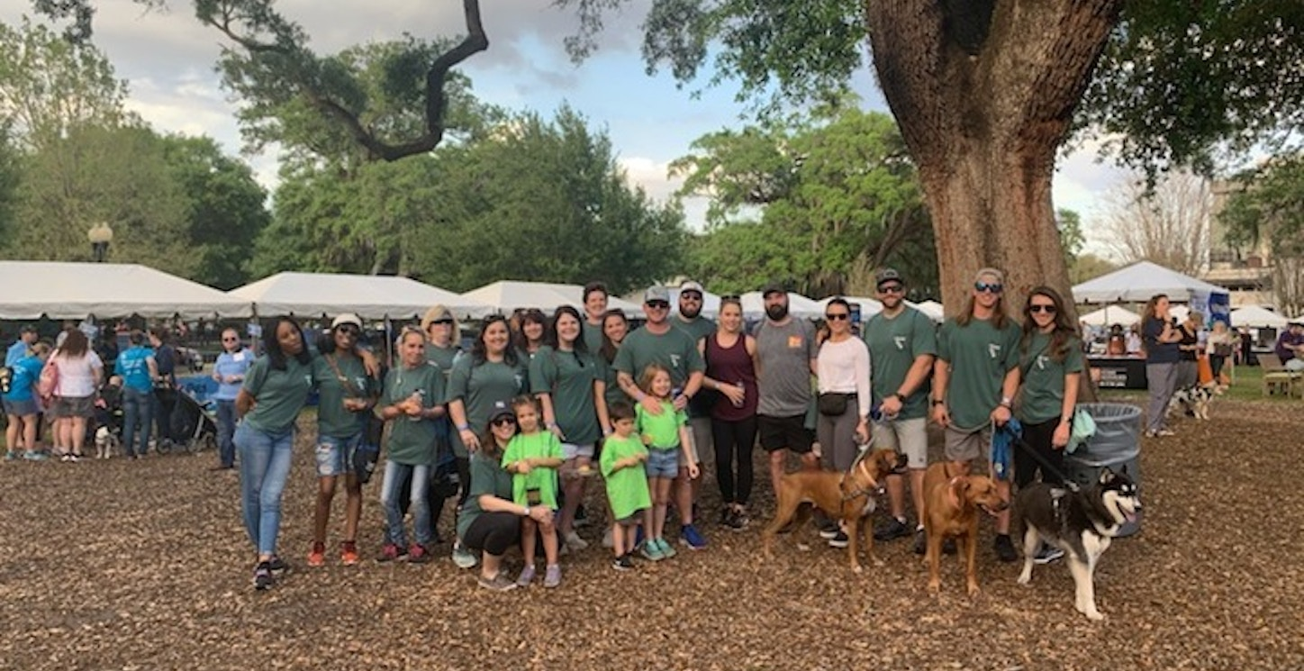 Team Ces At Walk For Wishes T-Shirt Photo