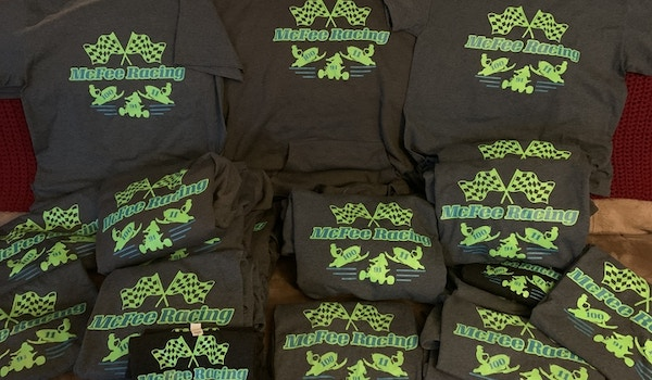 Our Photo Release Of Our Racing Teams Shirts Ordered By Fans! T-Shirt Photo