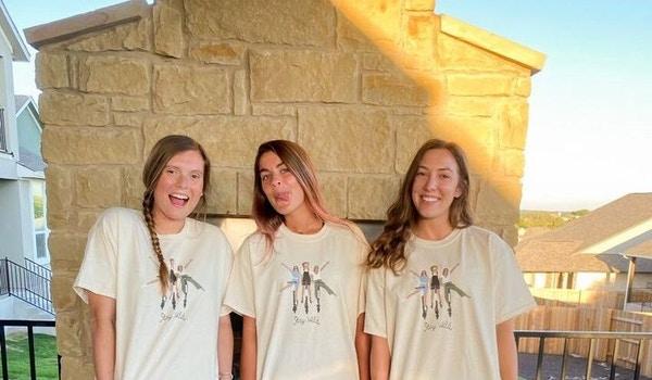 Three Amigos  T-Shirt Photo