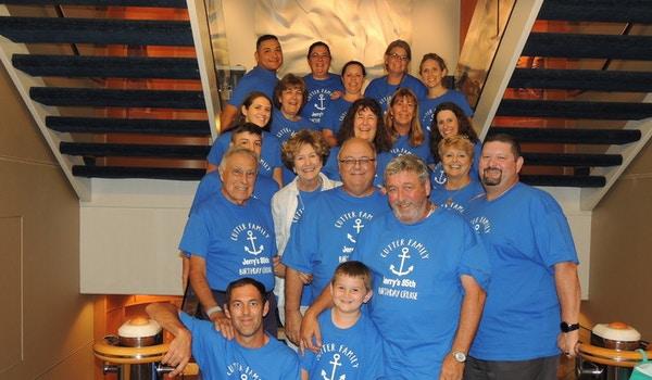 85th Birthday Cruise ! T-Shirt Photo