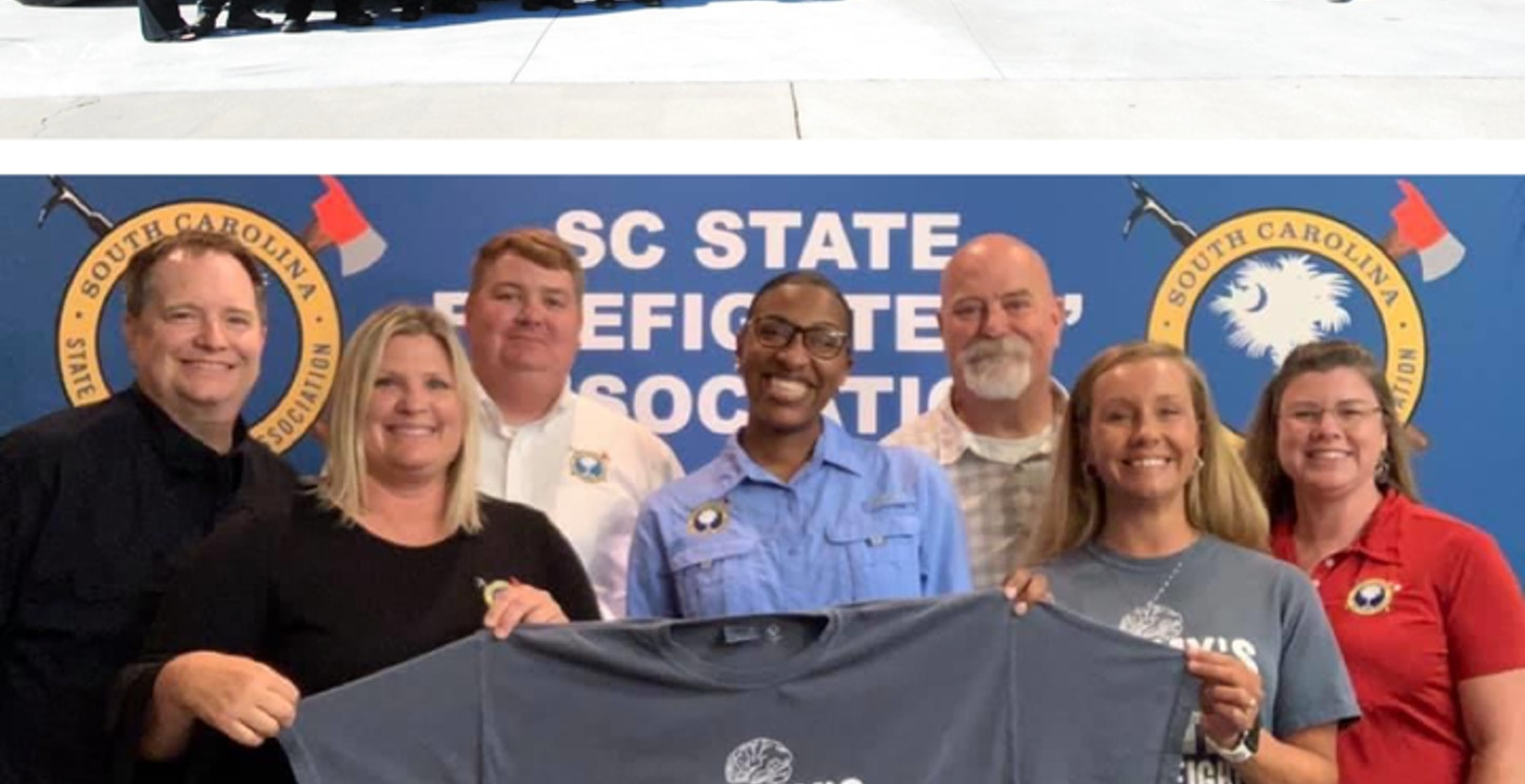 Sc Firefighters Support Tommy T-Shirt Photo