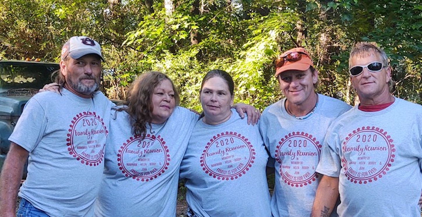 Almost All Helen's Children Family Reunion  T-Shirt Photo