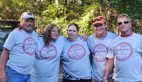 Almost All Helen's Children Family Reunion  T-Shirt Photo
