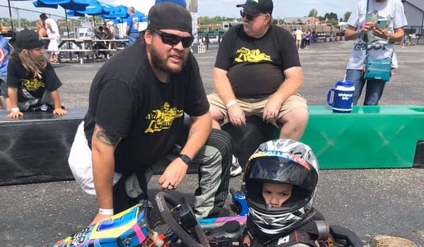 3 Generations Of Racers  T-Shirt Photo