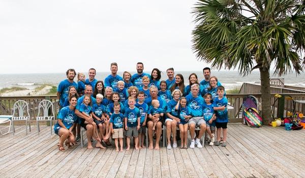 Bagaley Bunch Family Vacation T-Shirt Photo