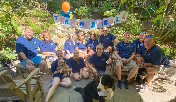 Team Meatball Supports Make A Wish New Hampshire! T-Shirt Photo