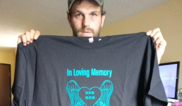In Loving Memory  T-Shirt Photo