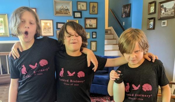 Catbird Brainery T-Shirt Photo