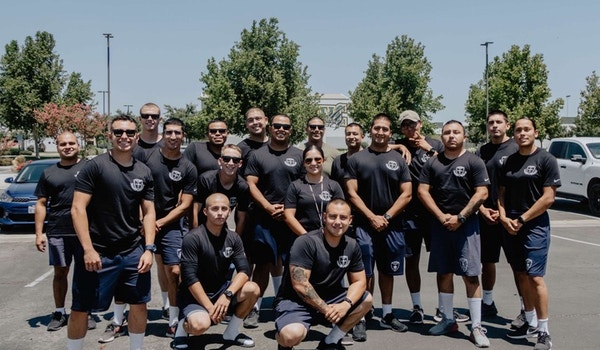Tulare Kings Counties Police Academy Class 148 T-Shirt Photo