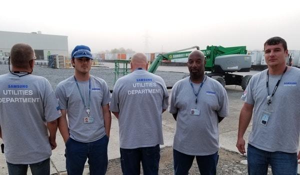 Samsung Utilities Department T-Shirt Photo