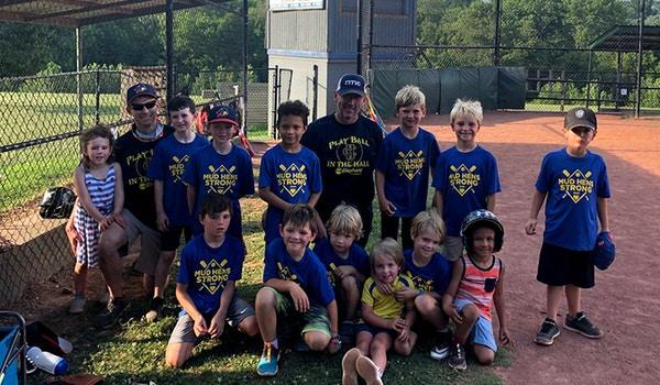 Mud Hens Baseball T-Shirt Photo