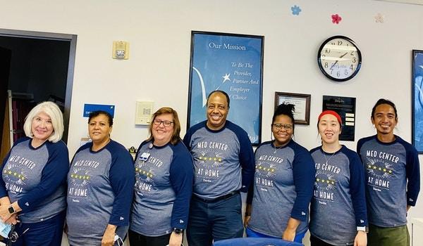 5 Star Facility Davita Med Center @ Home Team! T-Shirt Photo