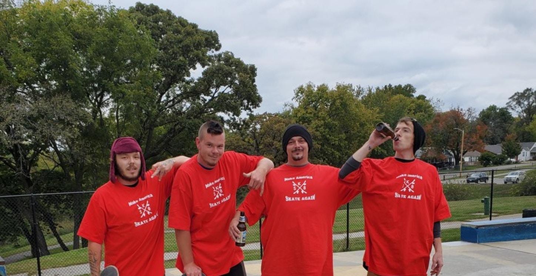 #Make America Skate Again T-Shirt Photo