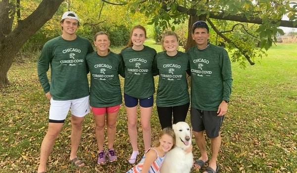 Chicago Cursed Covid Marathon T-Shirt Photo
