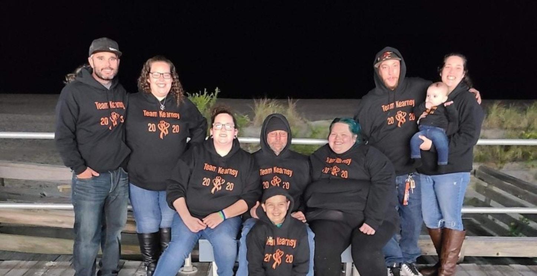 Team Kearnsy Light The Night 2020 T-Shirt Photo