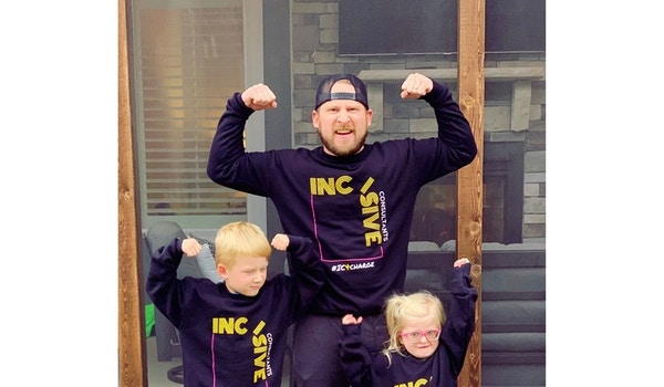 Incisive Raises Awareness For Charge Syndrome T-Shirt Photo